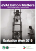 eVALUation Matters - Evaluation Week 2016