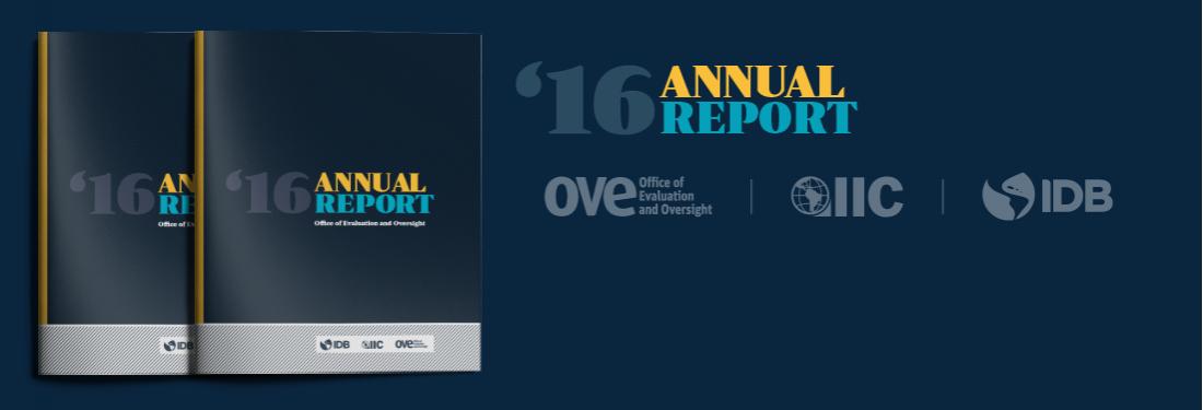 IDB OVE 2016 Annual Report